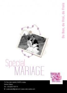 catalogue traiteur mariage